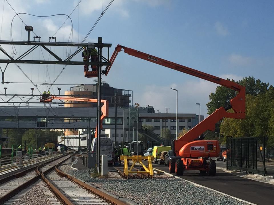 Spandraad verlichting Alkmaar - Flexcorail BVFlexcorail BV