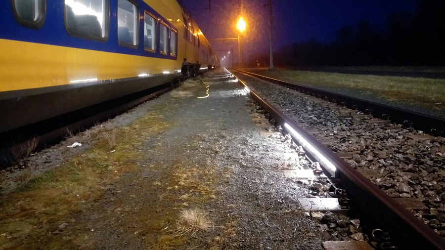Verlichting Lelystad opstel - Flexcorail BVFlexcorail BV